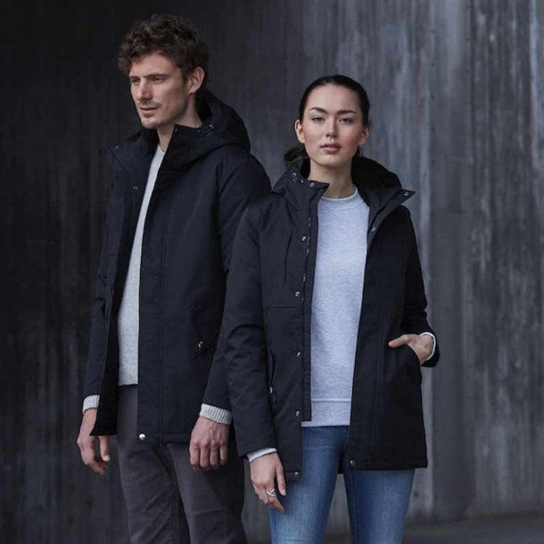 Creston Parkas sort - unisex