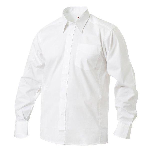 Langærmet skjorte med stræk