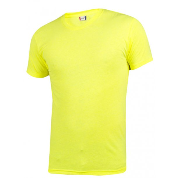 Neon T-shirt - Clique - spændende farver - firmatryk