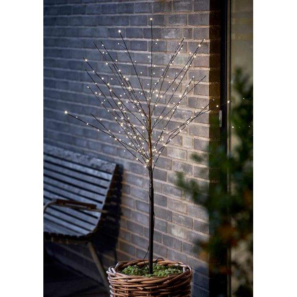 Lystræ med 200 LED pærer