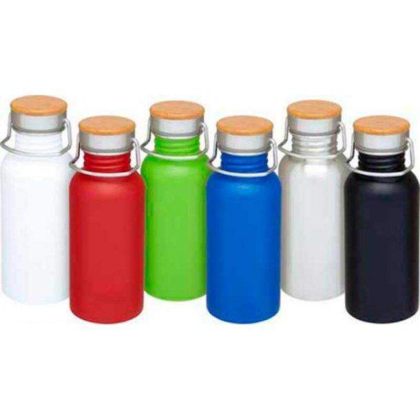 Thor sportsdrikke flaske - rustfri stål - 550 ml.