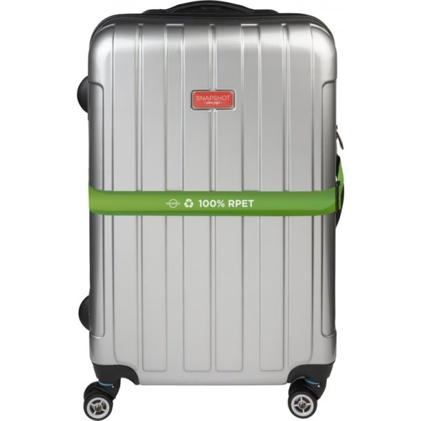 Bagagebælte til kuffert incl. logo