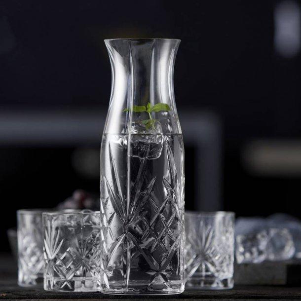 Karaffelsæt Lyngby glas Melodia -7 dele