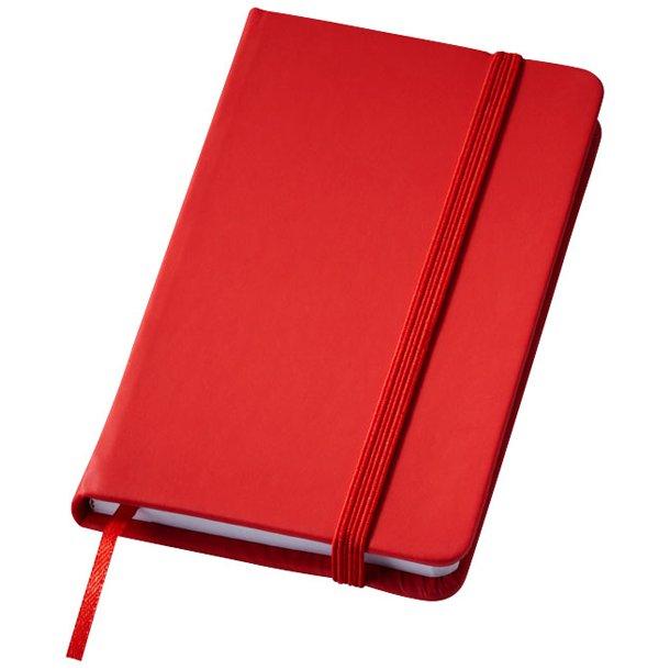 Notesbog - med linieret papir