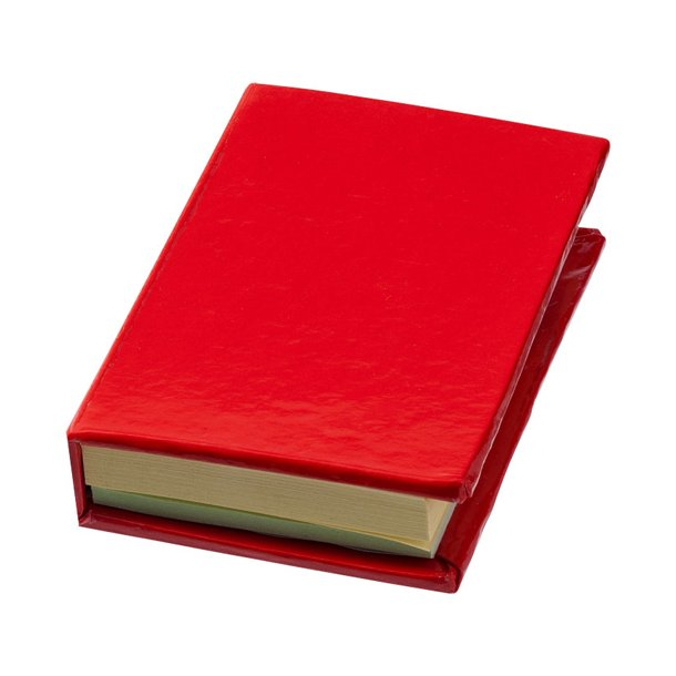Notesbog med memo sedler