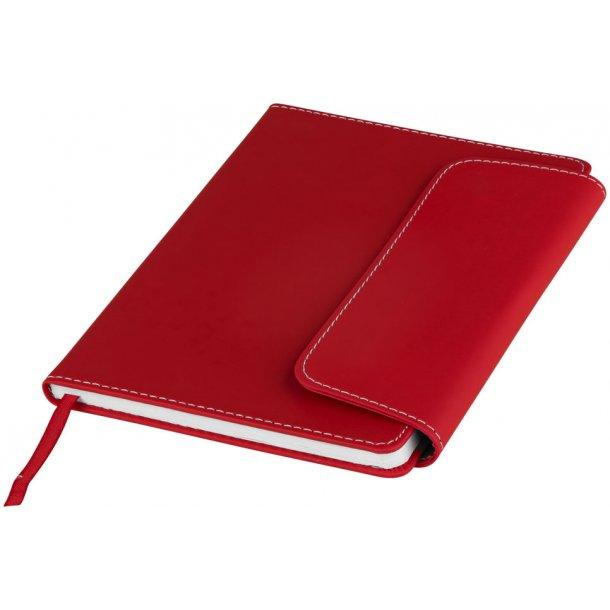 Notesbog A5 med kuglepen