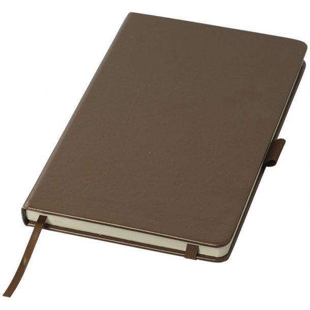 Klassisk notebook A5 - metalfarve