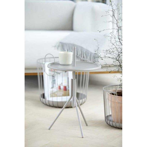 ZONE INU  metalbord - grå