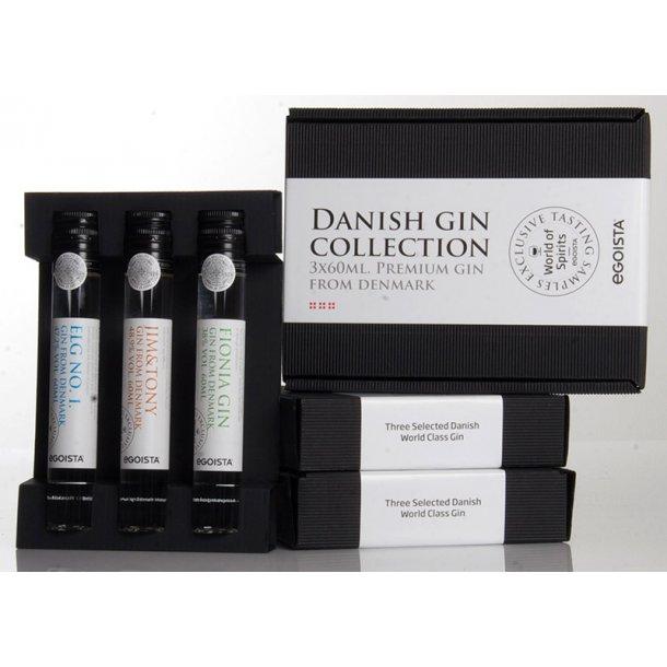 Dansk Gin kollektion -  3 pak.
