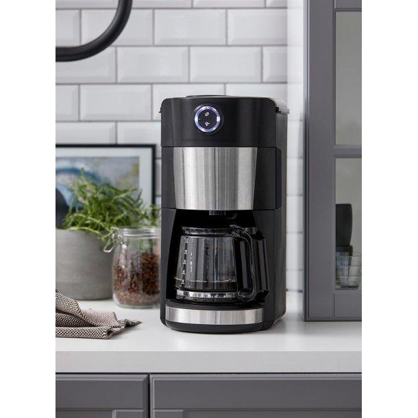 Kaffe maskine med kværn - Nordic Sense
