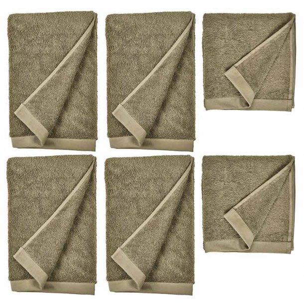 Sôdahl comfort håndklæder - 100% økologisk