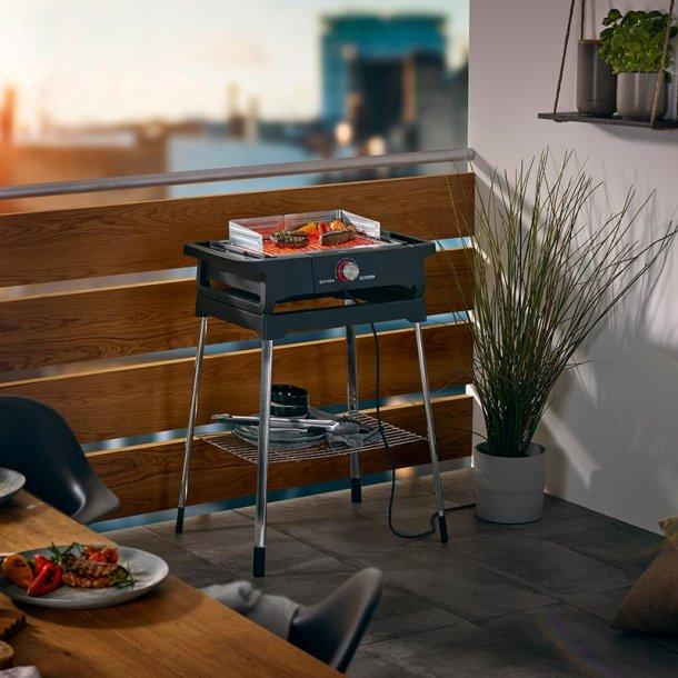 Elektrisk grill - udendørs og indendørs