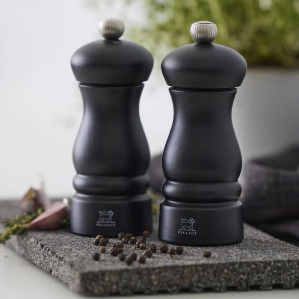 PEUGEOT Clermont salt & peberkværn sort - 13 cm