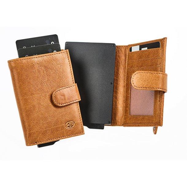 Bon Gout kortholder - cognac - RFID beskyttet