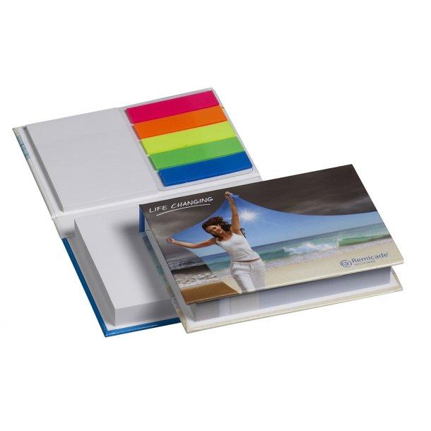 Notesbog i hårdt omslag