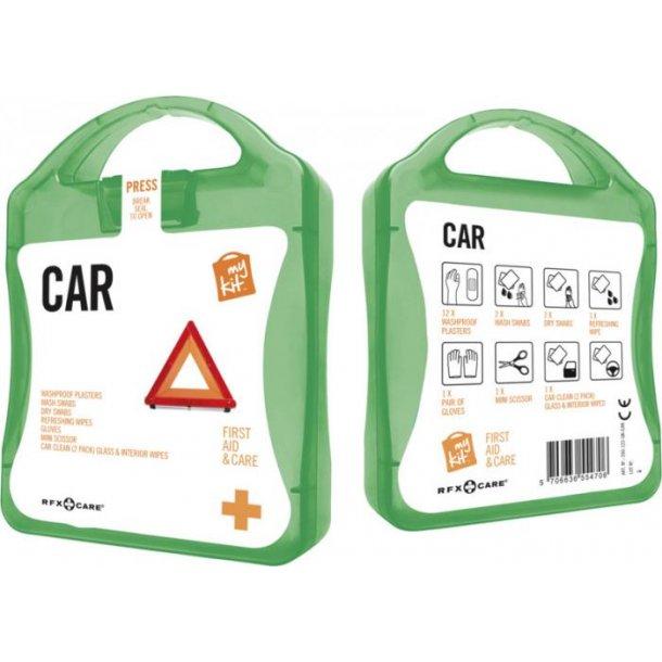 My kit førstehjælpssæt til bil