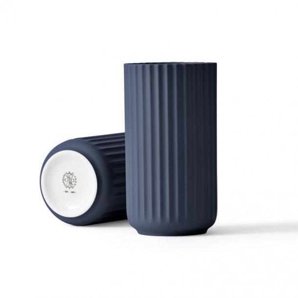 Lyngby vase - H. 15 cm - blå