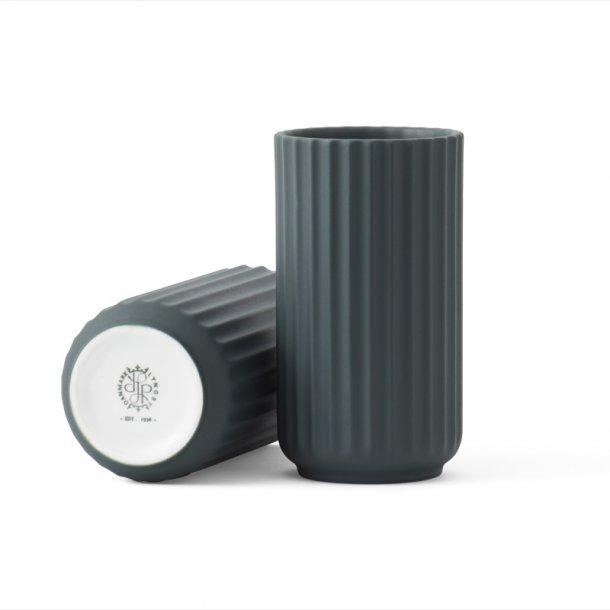 Lyngby vase - H. 15 cm - grøn