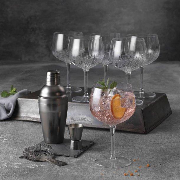Barsæt m/ Gin & tonic glas - 9 dele