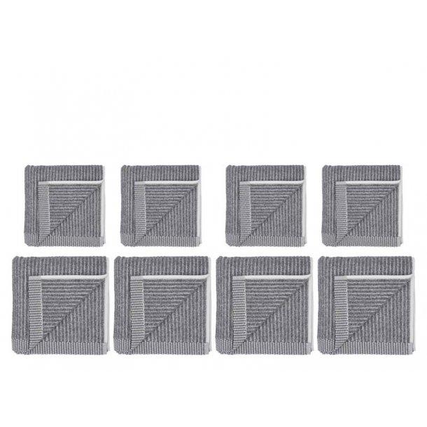 Södahl håndklæde gavepakke 8 dele - Ash