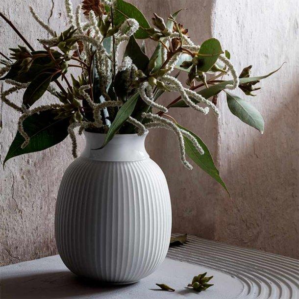 Curve vase 17 cm  - Lyngby porcelæn