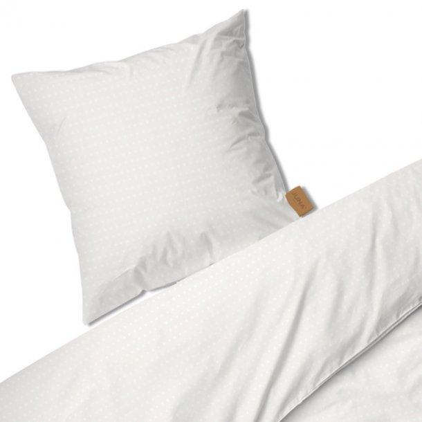 Juna Cube sengesæt -  hvid - 140x 200 cm