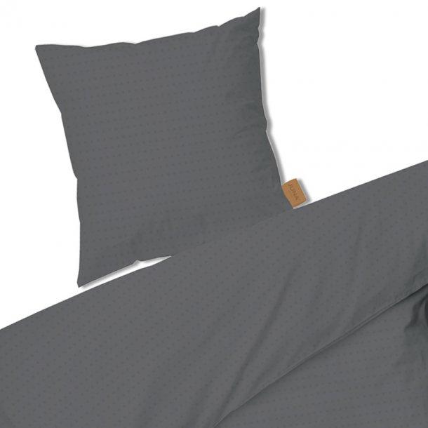 Juna Cube sengesæt -  grå - 140x 200 cm