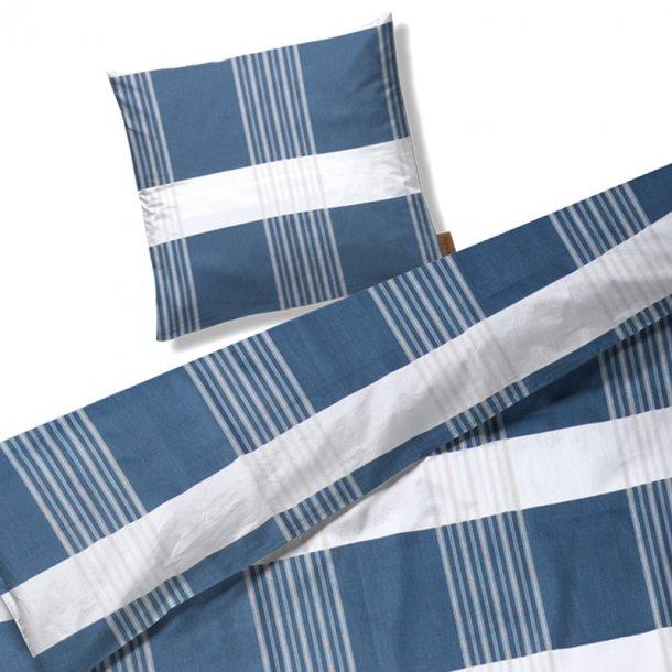 Juna Road blå sengelinned - 140 x 220 cm