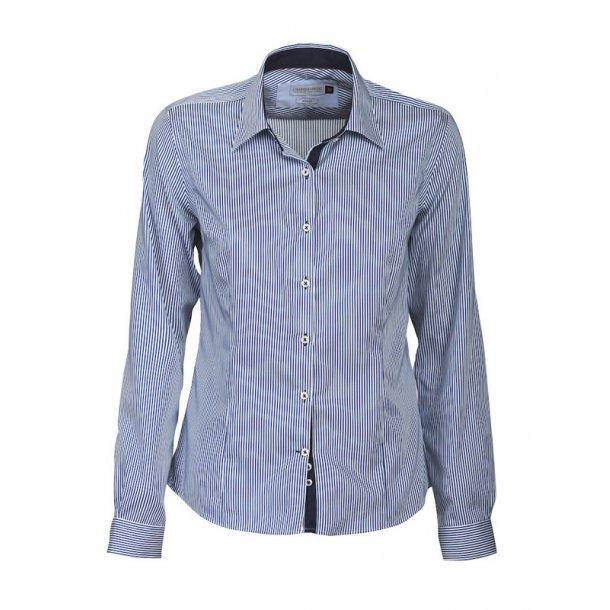 Skjorte - strib - J. Harvest & Frost - Dame