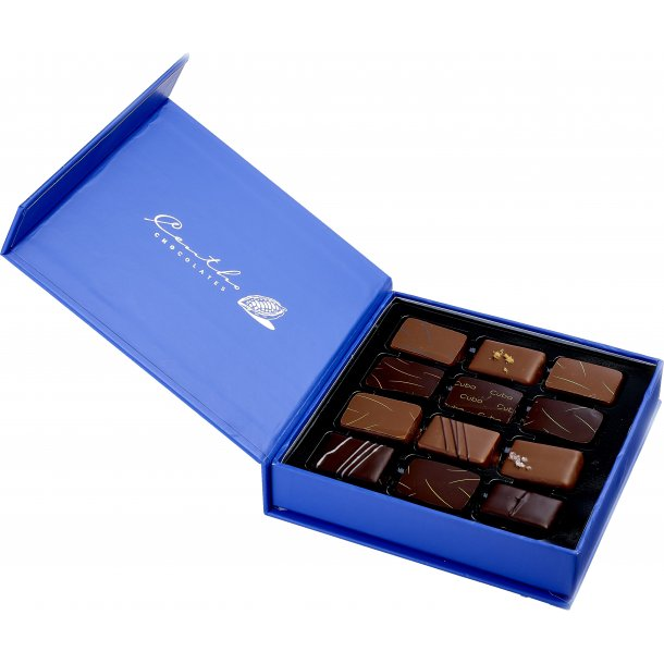 Centho blue - luksus chokolade 12 stk.