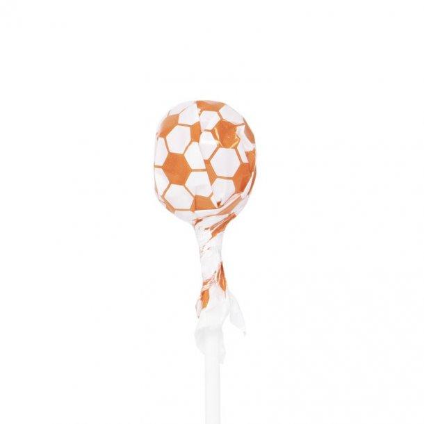 Fodboldslikkepinde - appelsin