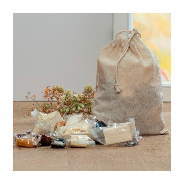 Bomuldsposer fyldt med kvalitet - medium
