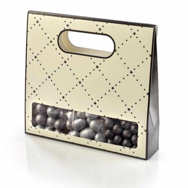 Chokoladetaske - SØLV - 300 g