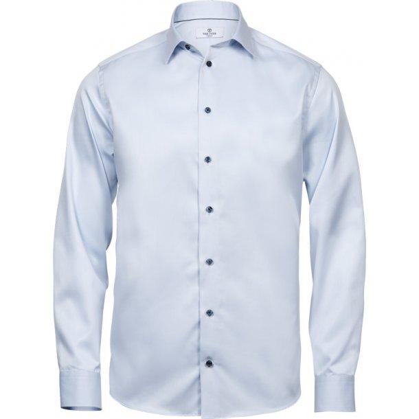 Comfort slim fit skjorte - luksuskvalitet - Herre