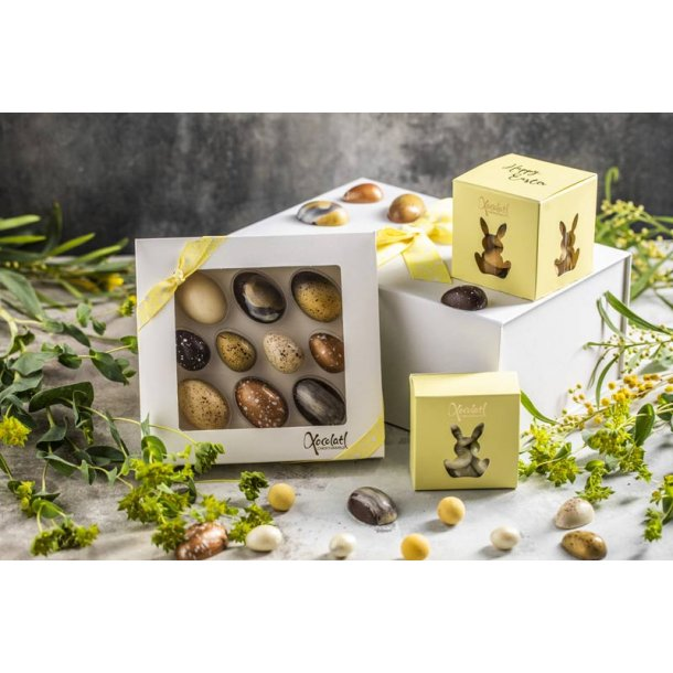 Påskegave m/chokolade fra Xocolatl