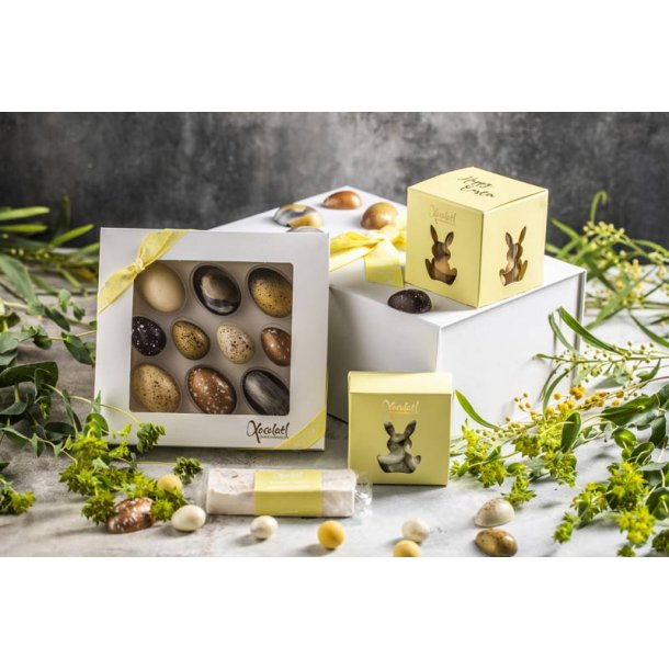 Påskegave m/chokolade fra Xocolatl -325gr.