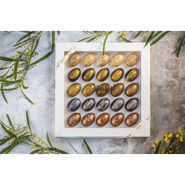 Påskeæg med lækkert fyld  -25 stk