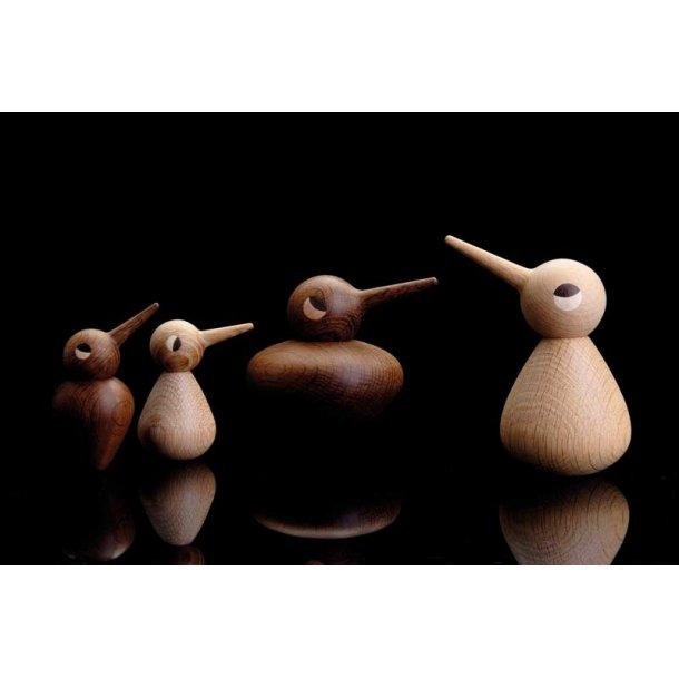 Fugl lille - eg - røget - Design Kristian Vedel