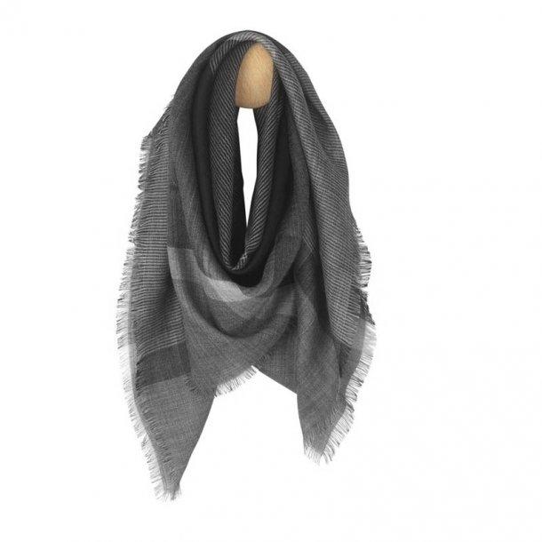 Milan tørklæde - sort