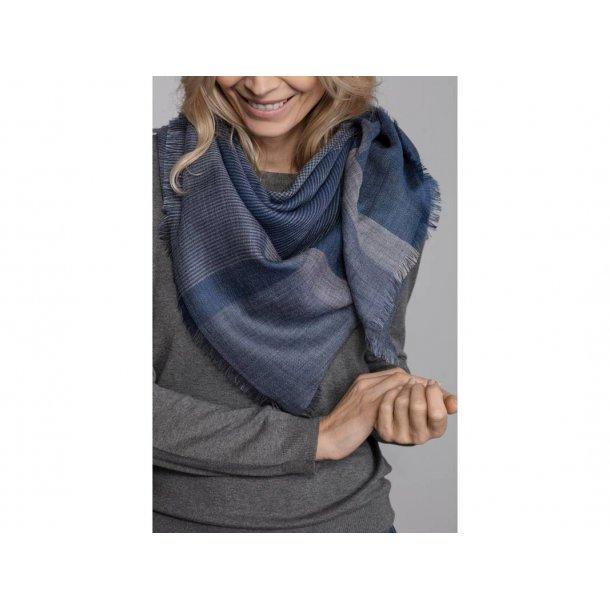 Milan tørklæde - blå