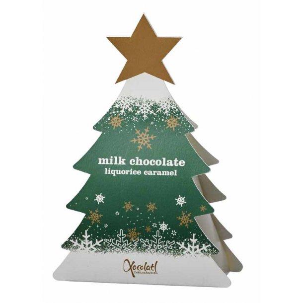 Xocolatl Juletræ grøn - m/lakridskaramel