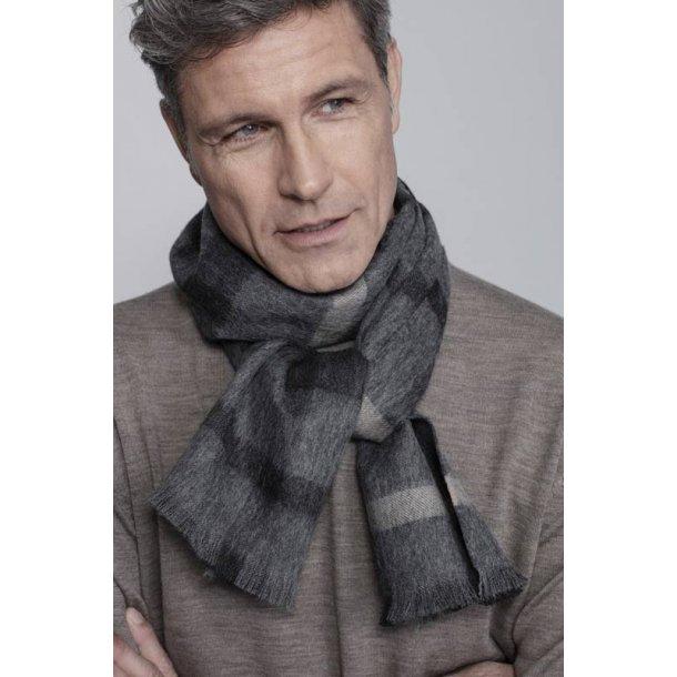 London tørklæde  - grey/black/beige