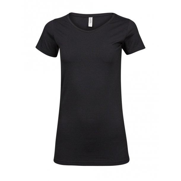 T- shirt - Ladies fashion stretch Tee
