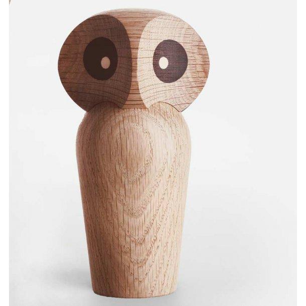 Ugle stor - eg - natur - Design Poul Anker Hansen