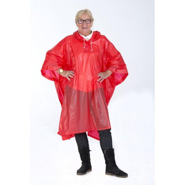 Regnslag  - rød pvc