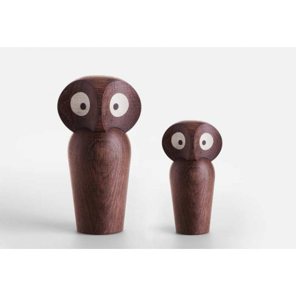 Ugle lille - eg - røget - Design Poul Anker Hansen