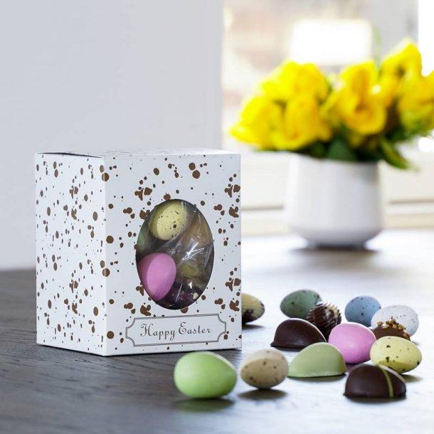 Happy Easter gaveæske påskemix flowpack-S
