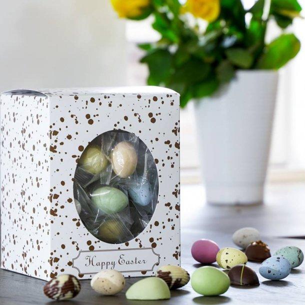 Happy Easter gaveæske påskemix flowpack-M