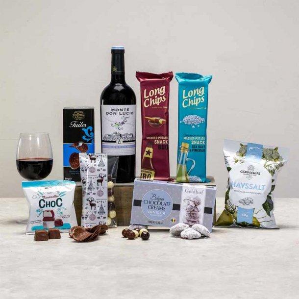 Gavepakke Alkoholfri København - æblemost & chokolade