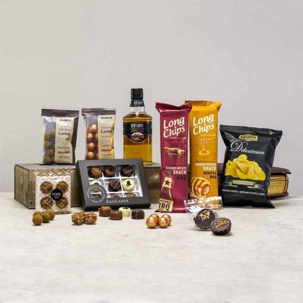 Gavepakke Severin - Rom & chokolade